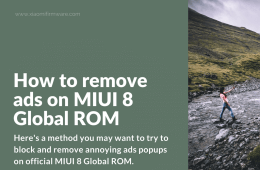 Block popup advertising on MIUI 8 Global ROM
