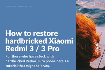 How to fix EndTransferPacket id 0 error Redmi 3