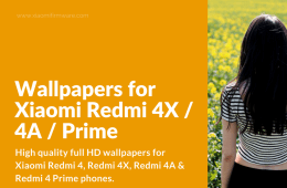 Download Full HD Wallpapers for Redmi 4X