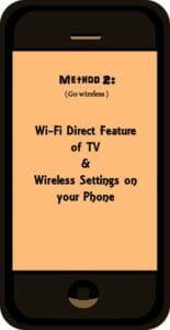 Redmi 4 phone to TV by wireless