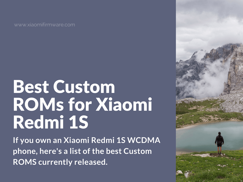 Latest Custom ROMs for Redmi 1S WCDMA