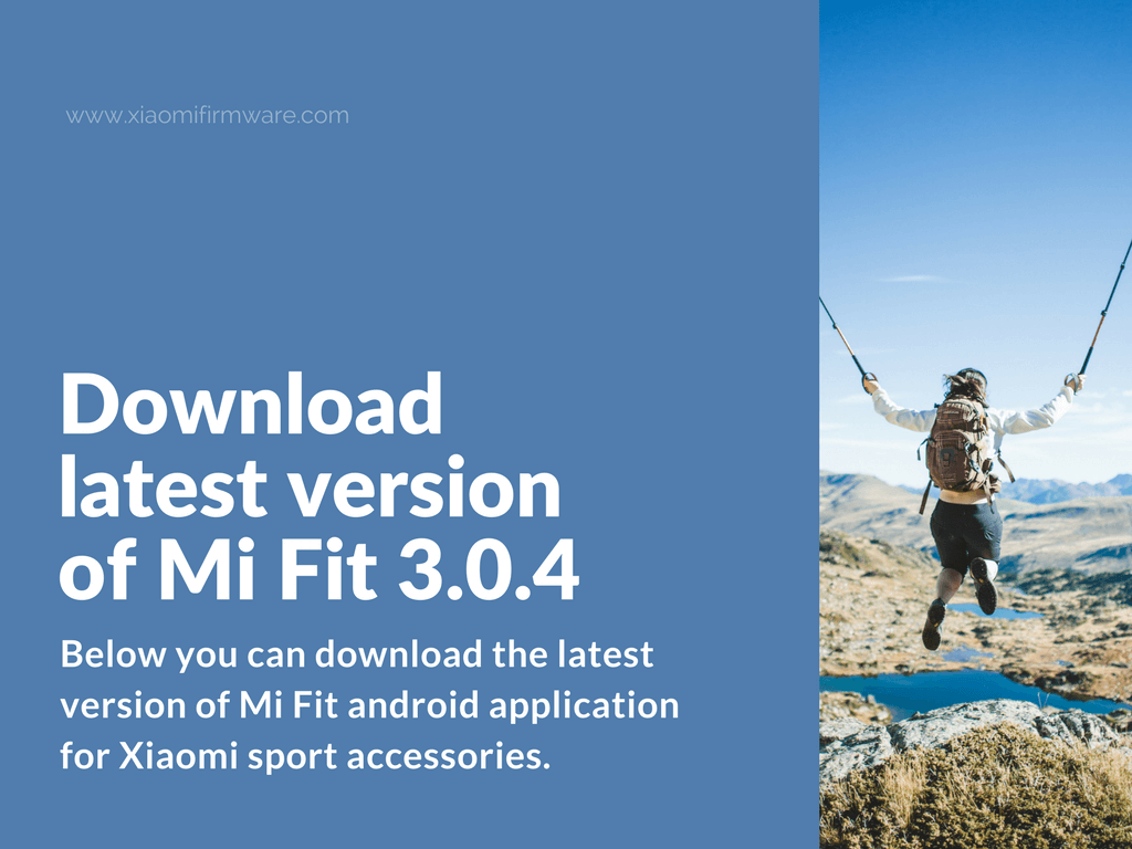Download link for the latest Mi Fit 3.0.4