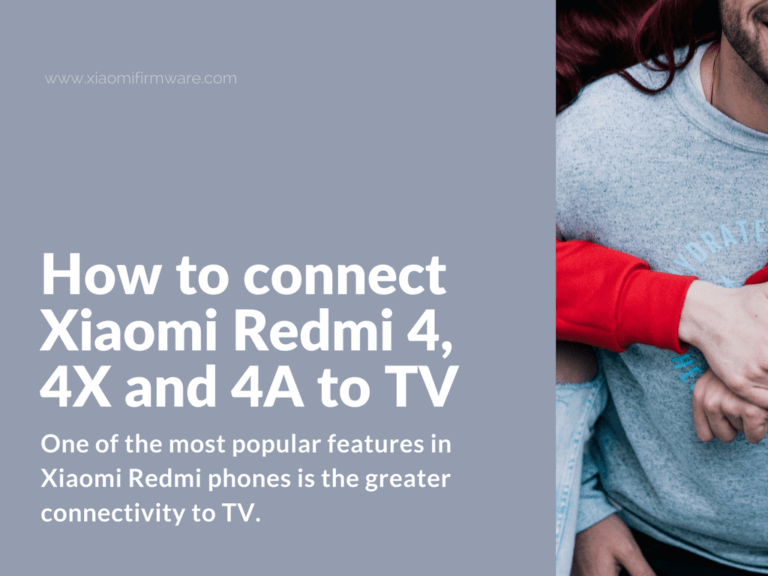 Tutorial on how to connect Xiaomi to TV