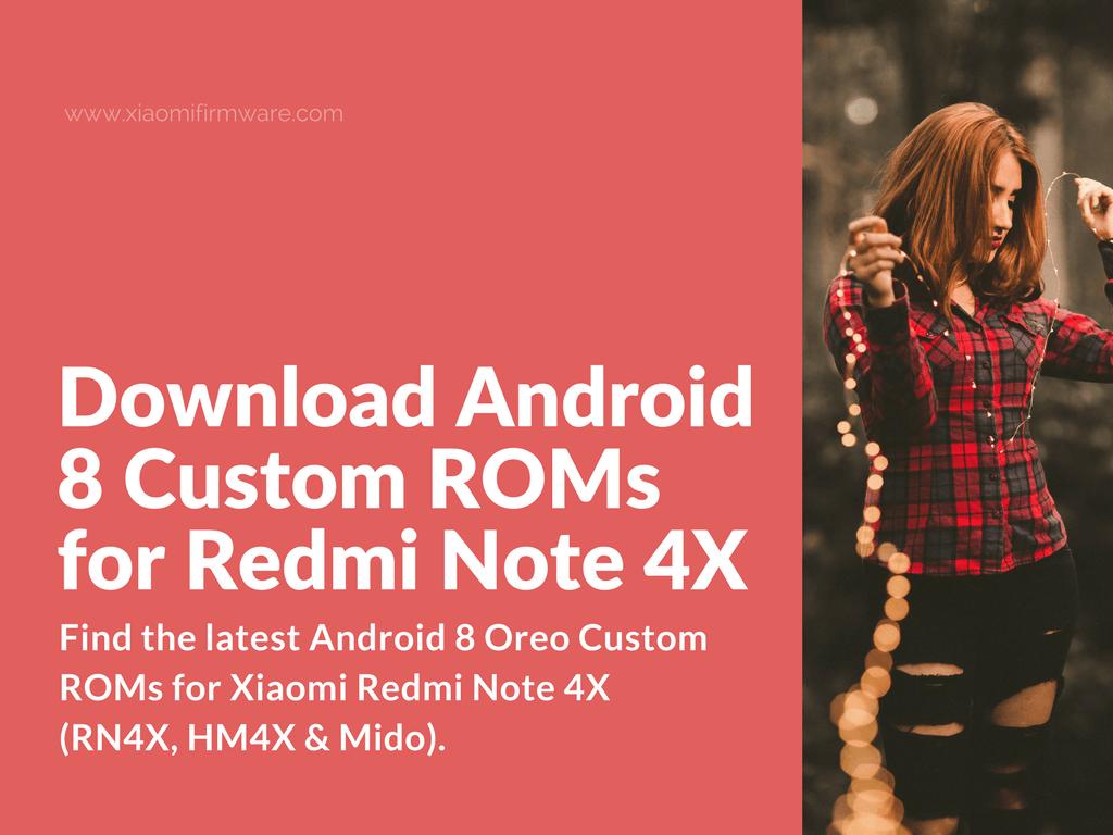 Xiaomi Redmi 4x Global Version Download