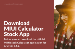 Download Stock Calc APK from MIUI ROM