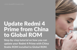 Flash Global ROM on China Stable Redmi 4 Prime