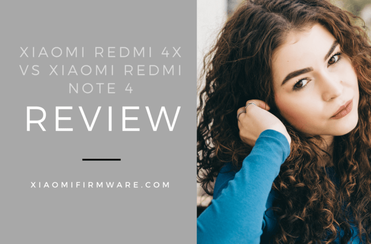 Difference between Redmi 4X and Redmi Note 4