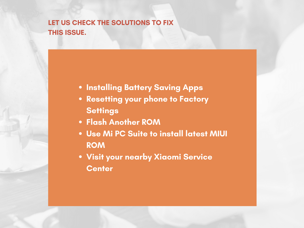 Fix Battery Charging on Xiaomi Smartphone