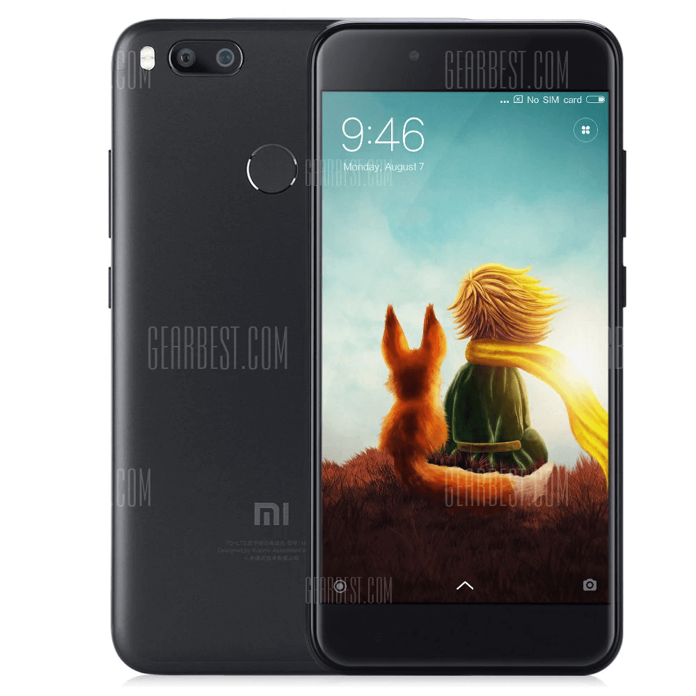 Xiaomi Mi A1 - Front and Back