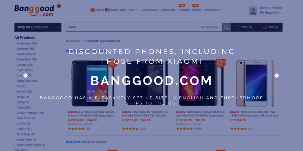 Buy Xiaomi discounted phones