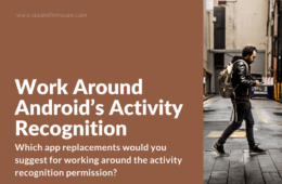 Keep Android phone from Sharing Your Physical Activity
