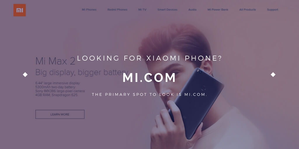 Buy Xiaomi at Mi.com