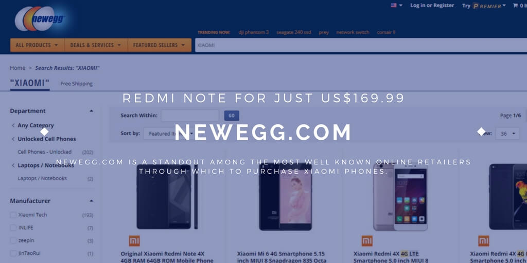 Buy Redmi Note for just 169.99