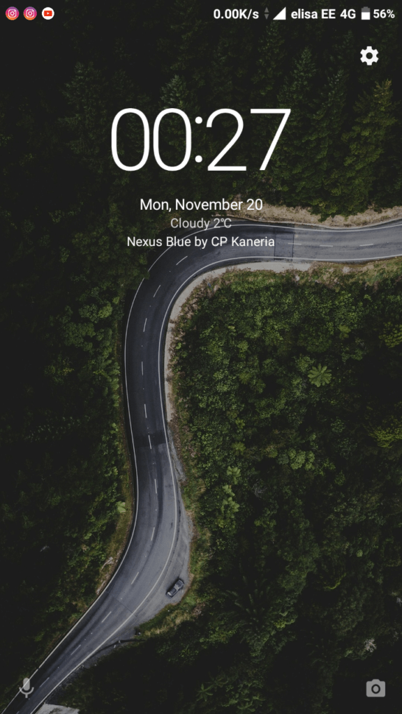 Nexus Blue MIUI Theme
