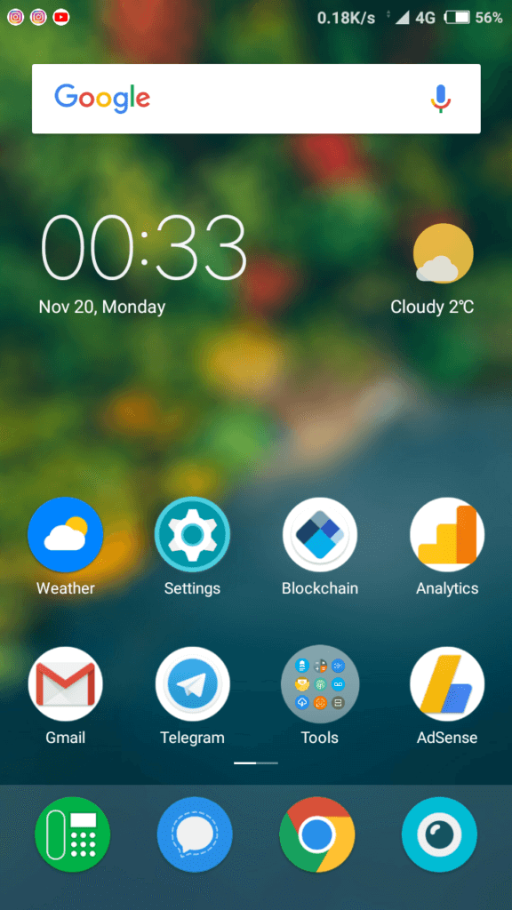 GreenScene MIUI Theme