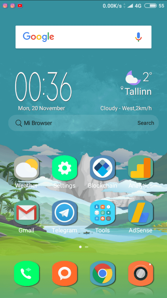 Mountain_River MIUI Theme