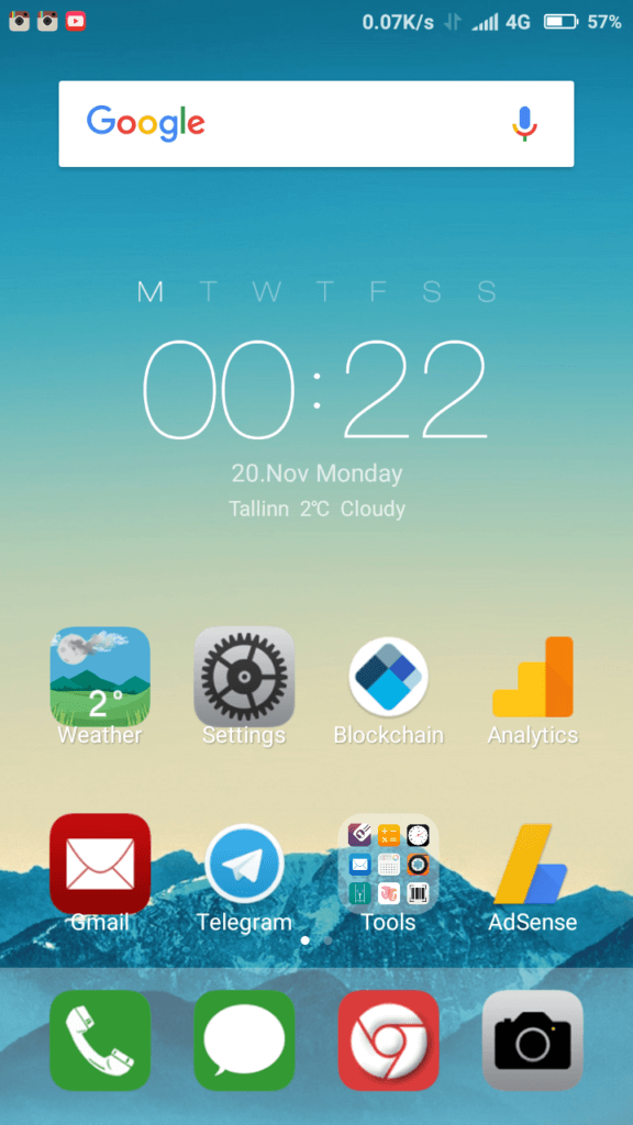 iOS reloaded MIUI Theme