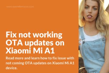 Guide] How to root Xiaomi Mi A1 - Xiaomi Firmware