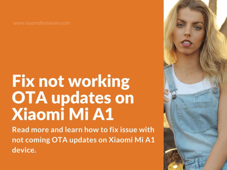 Enable automatic OTA updates on Xiaomi Mi A1