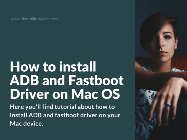 Install ADB Drivers on MacOS and flash TWRP on Redmi Note 4 MTK