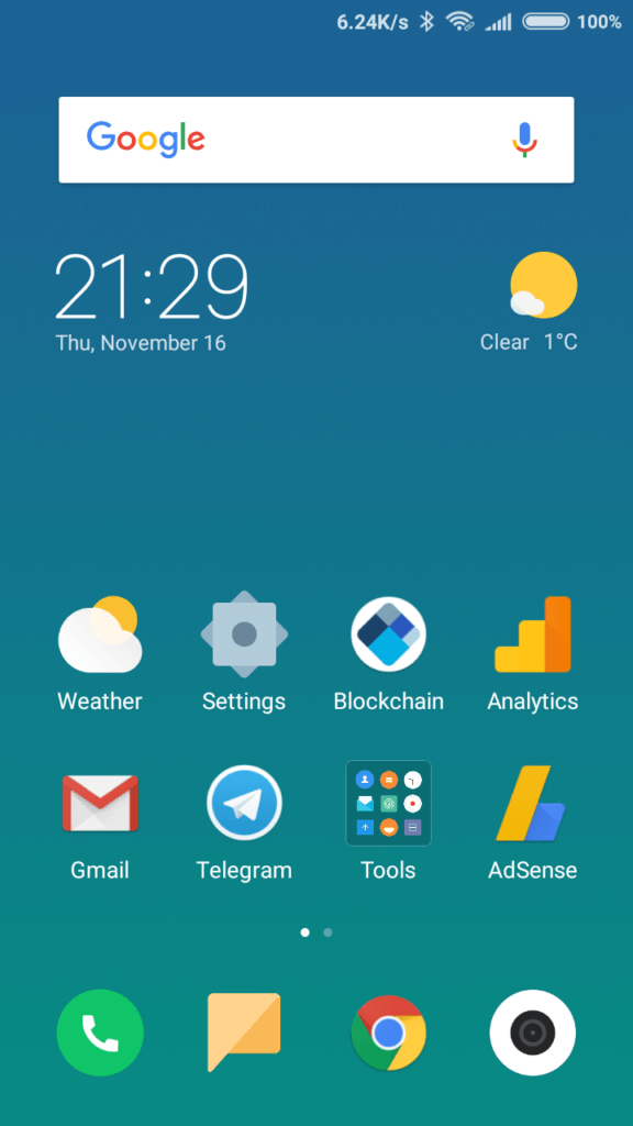 MIUI 9 Stock Theme - Limitless