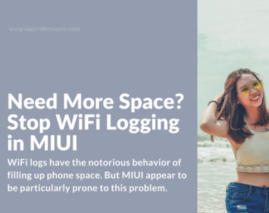 Disable WiFi logging in MIUI 8/9 ROMs