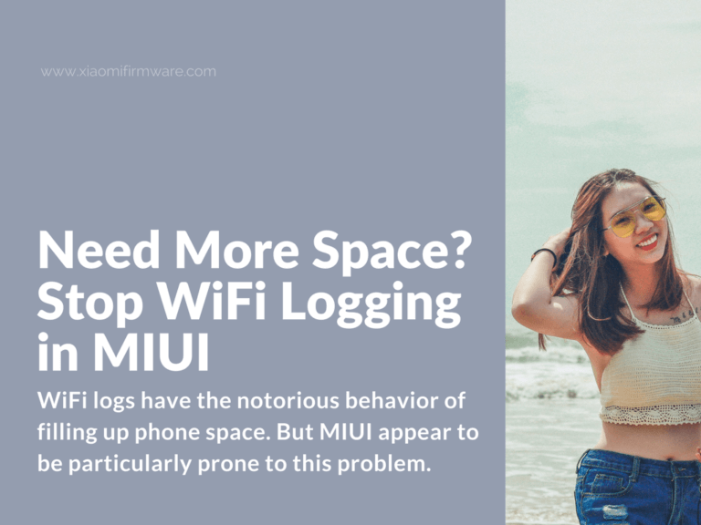 Disable WiFi logging in MIUI 8/9 ROMs