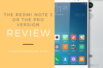 Xiaomi Redmi Note 3 or the Pro Version