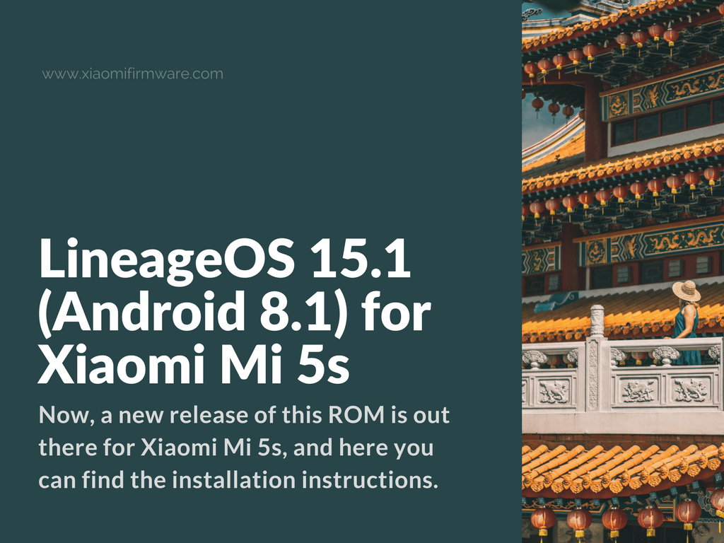 Download LineageOS 15.1 for Mi5S (Capricorn)
