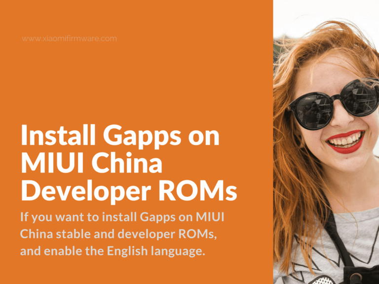 Google Applications for MIUI China Developer ROM