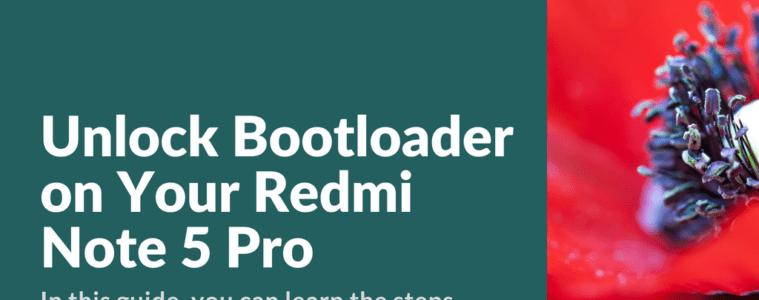 Unlock Xiaomi Redmi Note 5 Pro