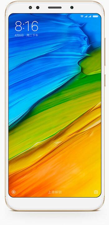 Redmi 5 smartphone