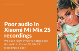 How to increase quality of audio recordings on Mi Mix 2S