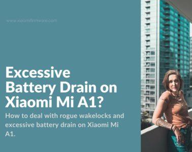 Rogue wakelockson Xiaomi Mi A1