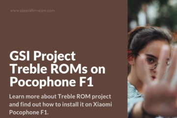 Install Project Treble on POCO F1