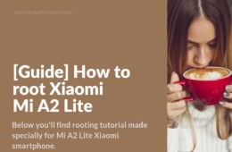 Enable ROOT access on Mi A2 Lite (daisy)