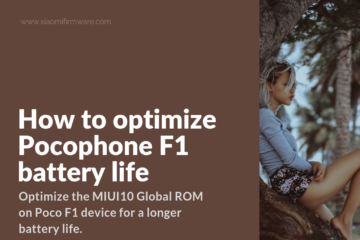 Official ROMs for Xiaomi Pocophone F1 - Xiaomi Firmware