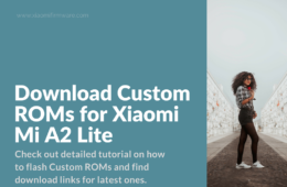 install custom roms on mia2 lite