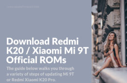 latest MIUI update for K20 and Mi 9T