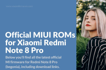 Download Latest ROMs for Redmi Note 8 Pro