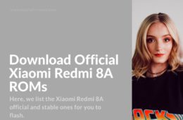 redmi 8a official firmware