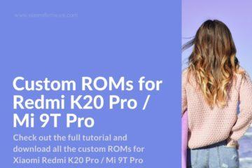 xiaomi firmware K20 Pro device