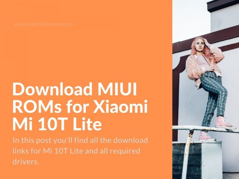 firmware official for Mi 10T Lite