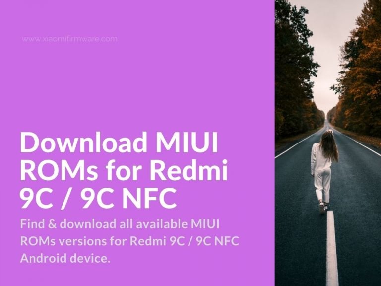 Redmi 9C Official MIUI ROMs