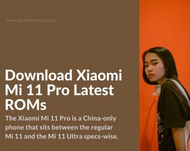mi 11 pro - ultra official miui firmware