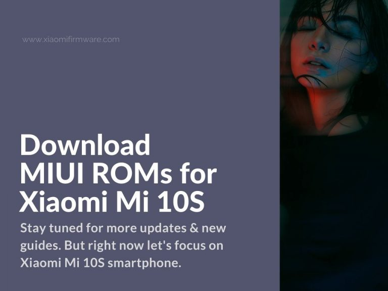 mi 10s official firmware