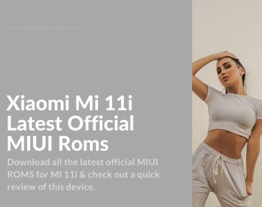 mi 11i firmware download
